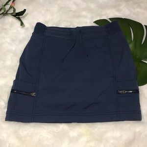 Athleta Navy Blue skort size 2